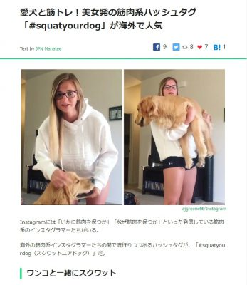 犬と筋トレ