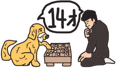 人と犬の14歳